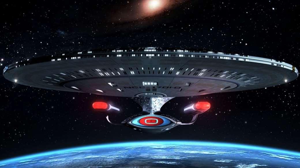 Enterprise USS-1701D - Enterprise USS-1701D Star Trek volgende generatie (14×8)