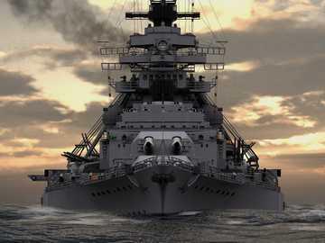 Bismark - largest battleship of the 2nd war. - Bismark - largest battleship of the 2nd war.