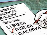 Bildungspolitik. - Was ist die Pflicht der Bildungsministerien?