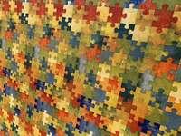 Piso de rompecabezas - Piso de rompecabezas de colores para niños