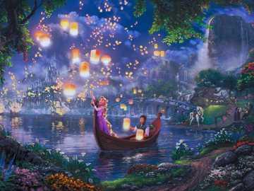 Рапунцель - Красивая сказка о сбывшейся мечте