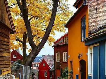 Осло Дамстредет Норвегия - Осло Дамстредет Норвегия