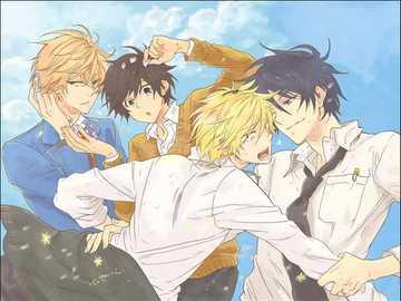 Hitorijime My Hero - anime shounen-ai, it was cool ////////////////////////////