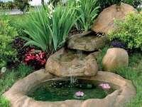 cascata de água