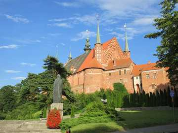 Frombork - Cathedral Hill in Frombork