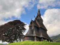 Kościół klepkowy w Norwegii