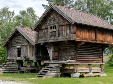 Traditional houses in Norway - Traditional houses in Norway