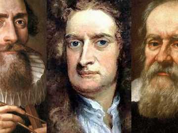 Große Wissenschaftler - Drei große Wissenschaftler, die das Universum studiert haben