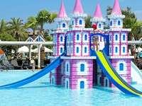 children's pool slide - m ....................