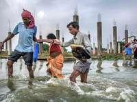 áradás Ázsiában