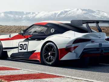Auto da rally, Toyota GR Supra - m ............................