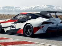 Voiture de rallye, Toyota GR Supra - m ............................