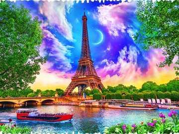 Computer Graphics. - Art. Image: Paris.
