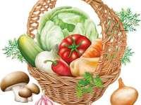 legume de toamnă - legume în ogradă la bunici