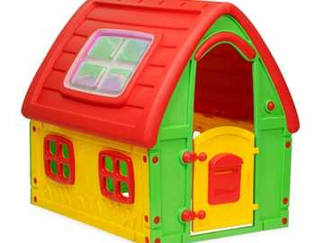 Toy box - The red dollhouse