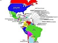 Amerikansk kontinent - AMERIKA. Det är naturligtvis den näst största kontinenten om du anser att hela Amerika är ett. I