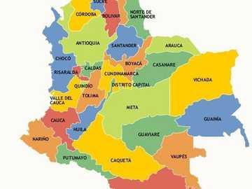 Political map of Colombia - Political map of Colombia