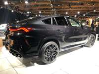 new BMW X6 - superb car at the show