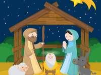 Rompecabezas Nacimiento de Jesús - Arma el rompecabezas del Nacimiento de Jesús