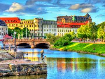 Paisaje urbano de Gotemburgo Suecia - Paisaje urbano de Gotemburgo Suecia
