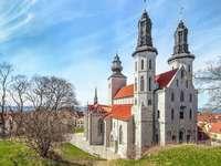 Gotland Island Cathedral Szwecja