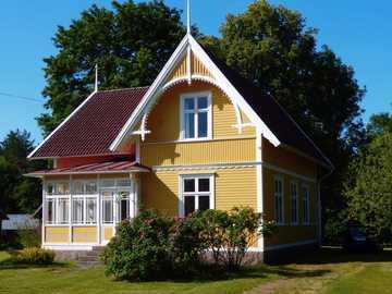 Casa de madera en Suecia - Casa de madera en Suecia