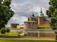 Zamek Kalmar w Szwecji