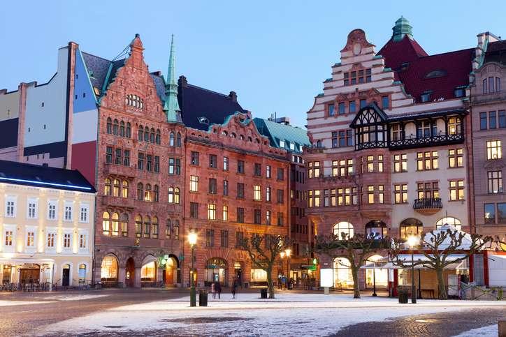 Malmö város Svédországban online rejtvény