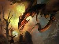 Magicien et dragon - Magicien et Dragon d'Imagexia.