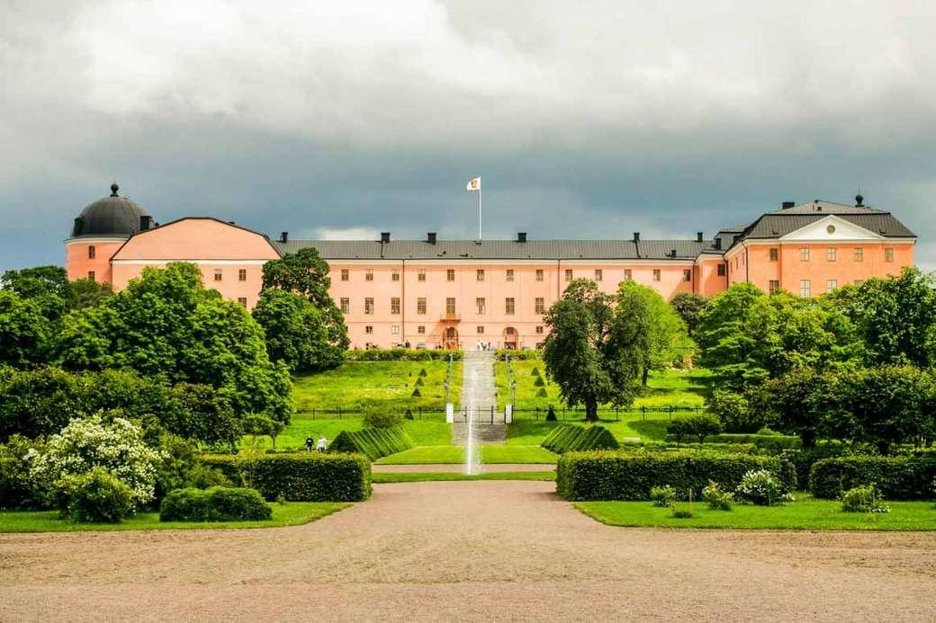 Uppsala Schlossanlage Schweden
