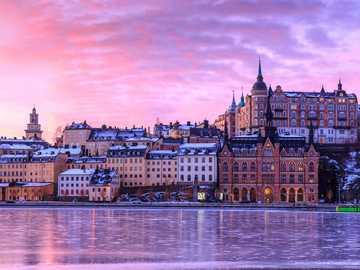 Stockholm, Svédország - Stockholm Svédországban