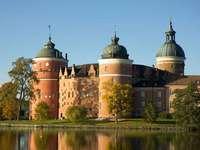 Zamek Gripsholm w Sztokholmie