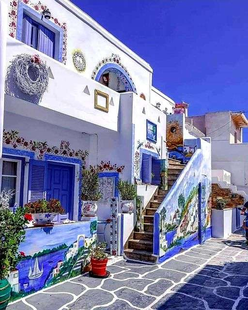 Colorful Greece. - Landscape puzzle.