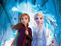 Ice land - Anna and Elza in the land of ice