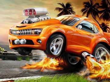 ruote calde arancioni - ruote calde arancioni con dodger fire rodger
