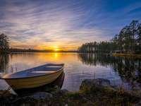 Dalarna-tó Svédországban