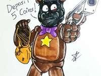 Rockstar Freddy tjuven