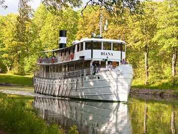 Statek Göta Canal Diana Szwecja - Statek Göta Canal Diana Szwecja