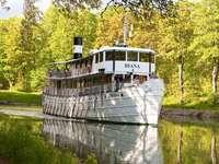 Göta csatorna hajó Diana Svédország
