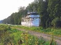 Göta csatorna hajó Juno Svédország
