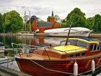 Halland Boats Halmstad Castle, Svédország