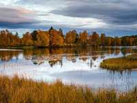 Harjedalen őszi Svédország