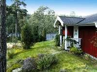 Víkendház Svédországban