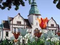 Karlshamm városháza, Svédország