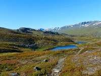 Lappföld Svédország táj