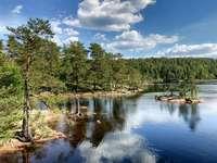Peisaj marin în Suedia