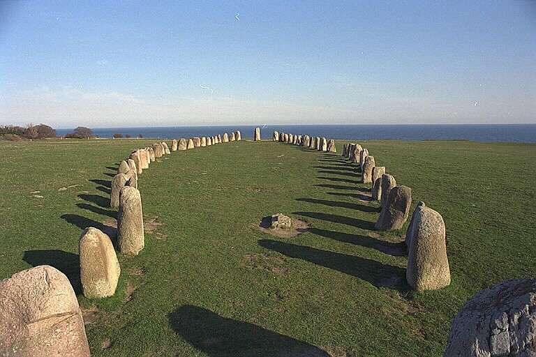 Skane Ales álló kövek Svédország (12×8)