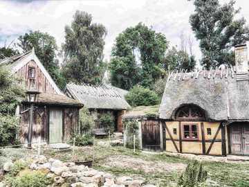 Skane old cottages Sweden - Skane old cottages Sweden