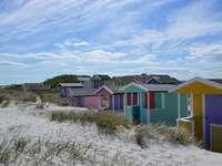 Cabane de plajă Skane în Suedia