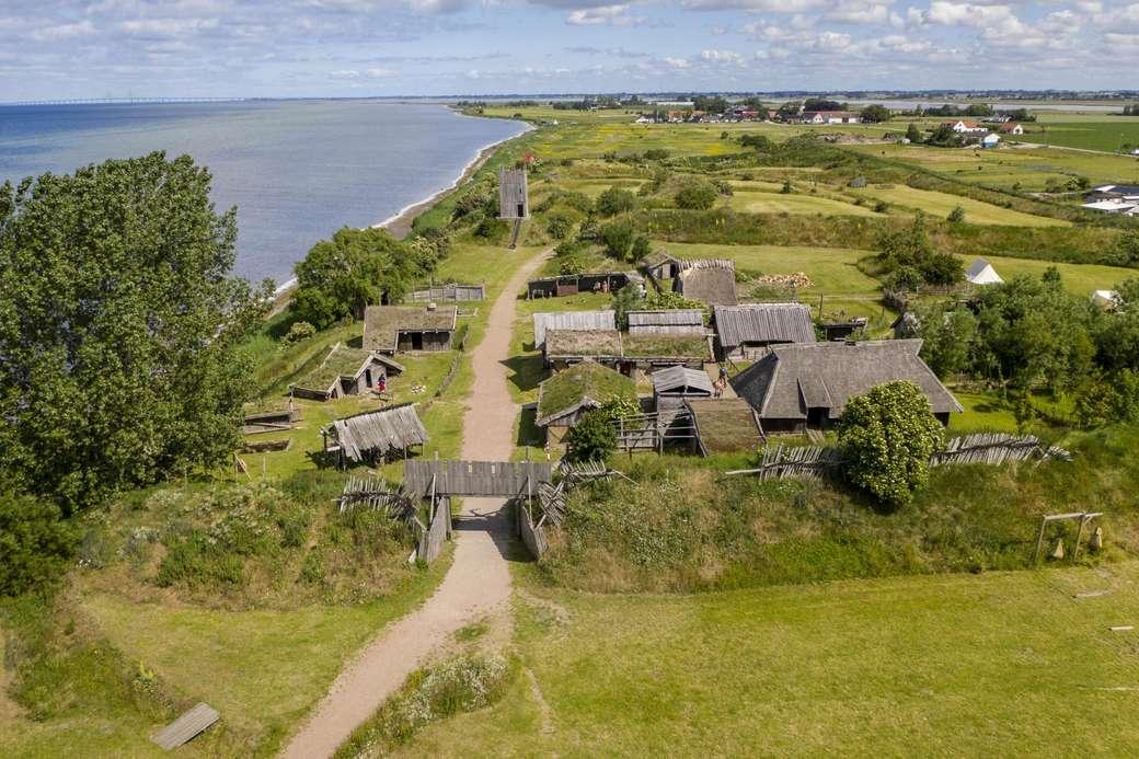 Skane Viking Village Svédország (12×8)